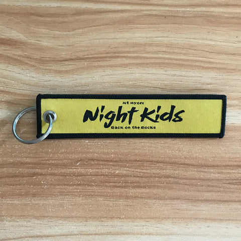 JDM Night Kids - Embroidery Nylon JDM Keychain
