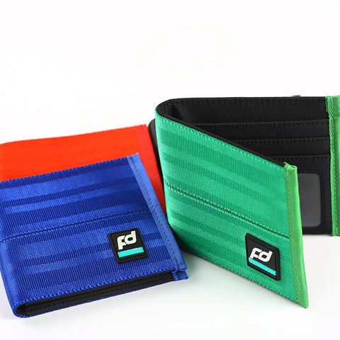 JDM Wallet Money Purse - Racing Seat Fabric