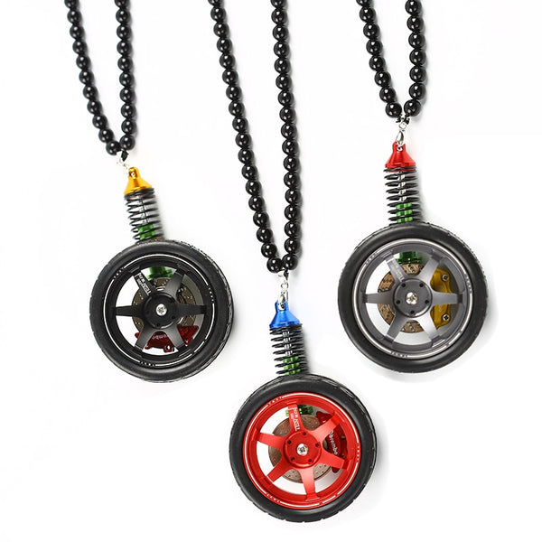 Mirror Pendant Full Suspension with Wheel Brake and Shock