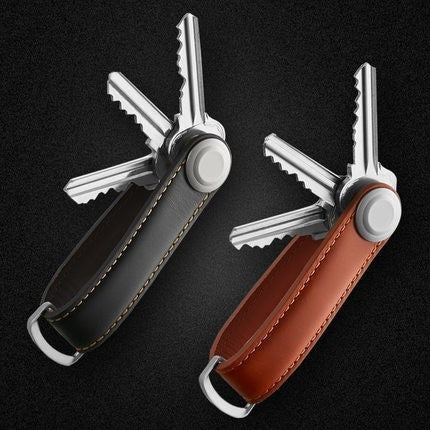 Leather Key Wallet - Key Fob