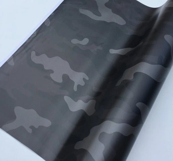 Arctic Snow Camo Vinyl Film - Vinyl Wrapping For Car