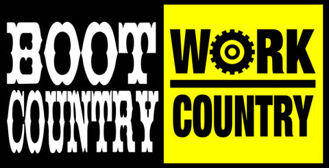 Boot Country | Work Country Logo