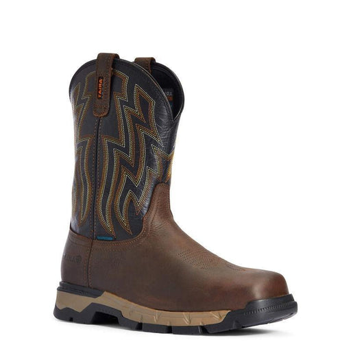 "Ariat Men's - 10"" Waterproof EH Rebar Flex - Soft Toe MENS BOOTWATRPROOFNON-SAFETY ARIAT INTERNATIONAL, INC."