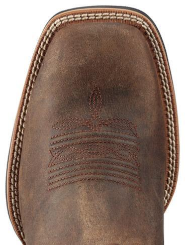 "Ariat Men's 11"" Sport Distressed Brown– Wide Square Toe MENS WESTERN SQUARETOE ARIAT INTERNATIONAL, INC."