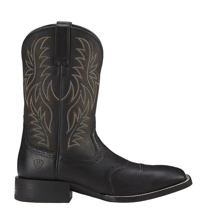 "Ariat Men's - 11"" Sport Western - Wide Square Toe MENS WESTERN SQUARETOE ARIAT INTERNATIONAL, INC."
