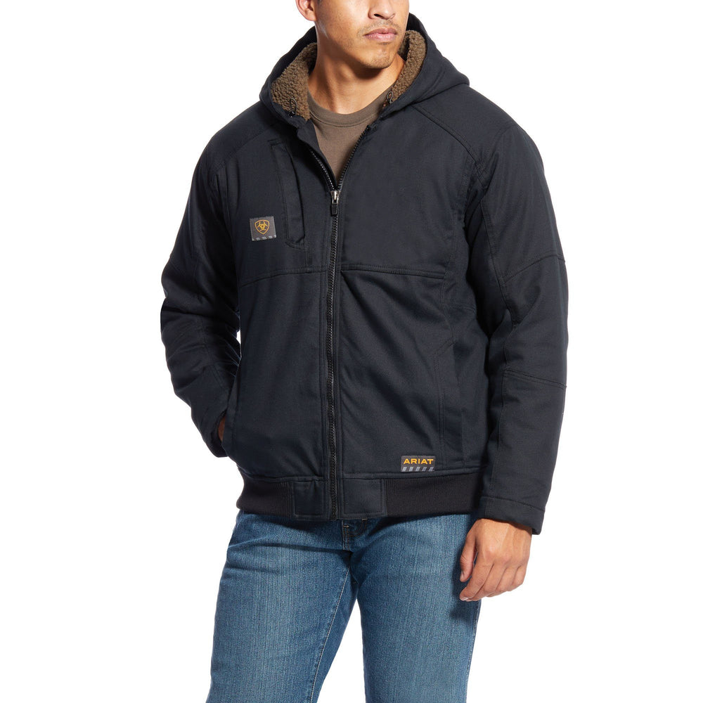 Ariat Men's - Black Rebar Duracanvas Jacket WORK AP.OUTERWEAR INSULATED ARIAT INTERNATIONAL, INC.