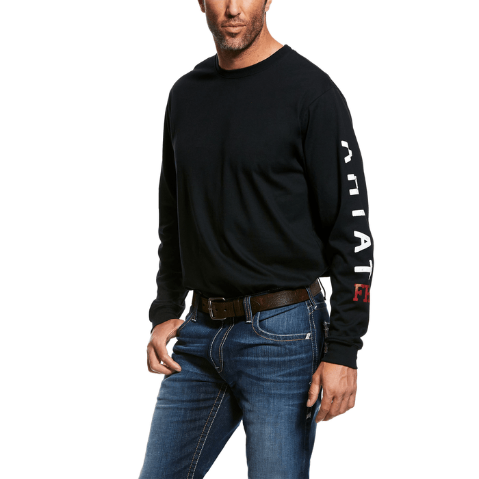 Ariat Men's - Flame Resistant Roughneck Skull Logo T-shirt ME.AP.FLAME RESISTANT ARIAT INTERNATIONAL, INC.