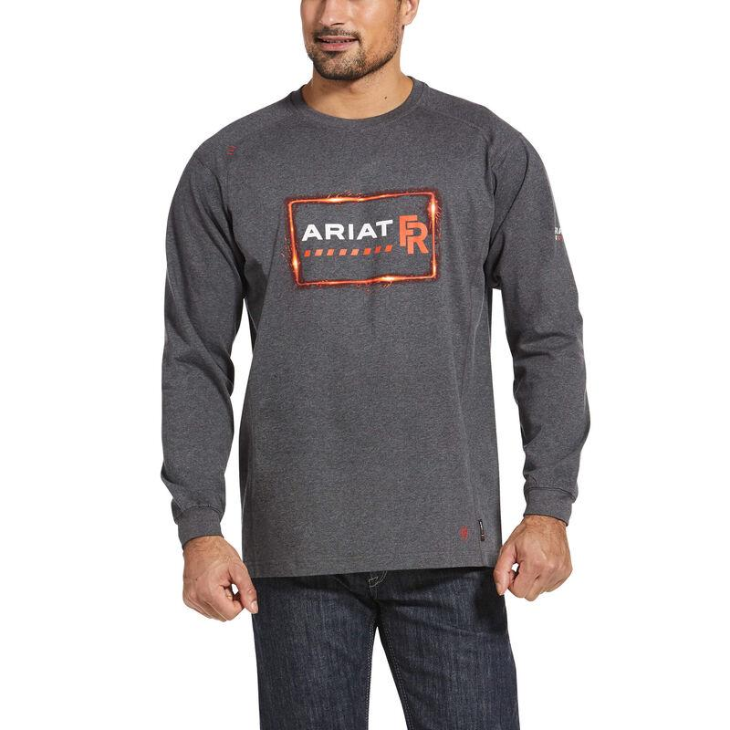 Ariat Men's - FR Air Crew Precision Graphic T-Shirt ME.AP.FLAME RESISTANT ARIAT INTERNATIONAL, INC.