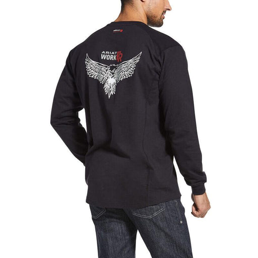 Ariat Men's - FR Air Henley Soar Graphic ME.AP.FLAME RESISTANT ARIAT INTERNATIONAL, INC.