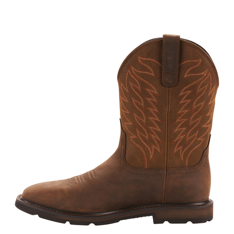 "Ariat Men's - Groundbreaker 10"" H20 - Wide Square toe MENS BOOTWATRPROOFNON-SAFETY ARIAT INTERNATIONAL, INC."