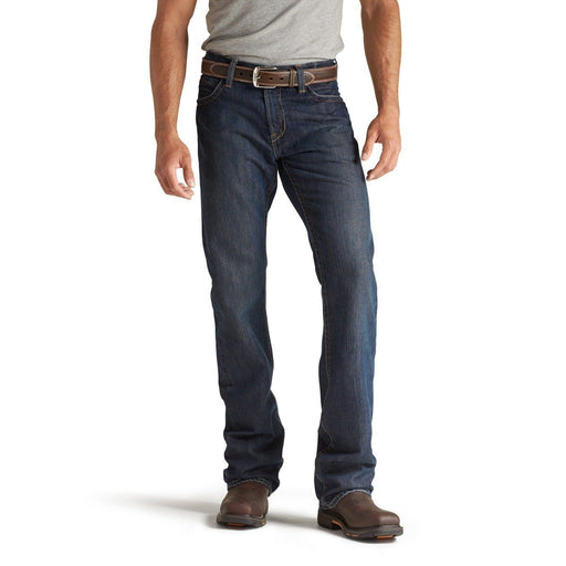 Ariat Men's M4 Flame-Resistant Denim Work Jeans - Low Rise Boot Cut ME.AP.FLAME RESISTANT ARIAT INTERNATIONAL, INC.