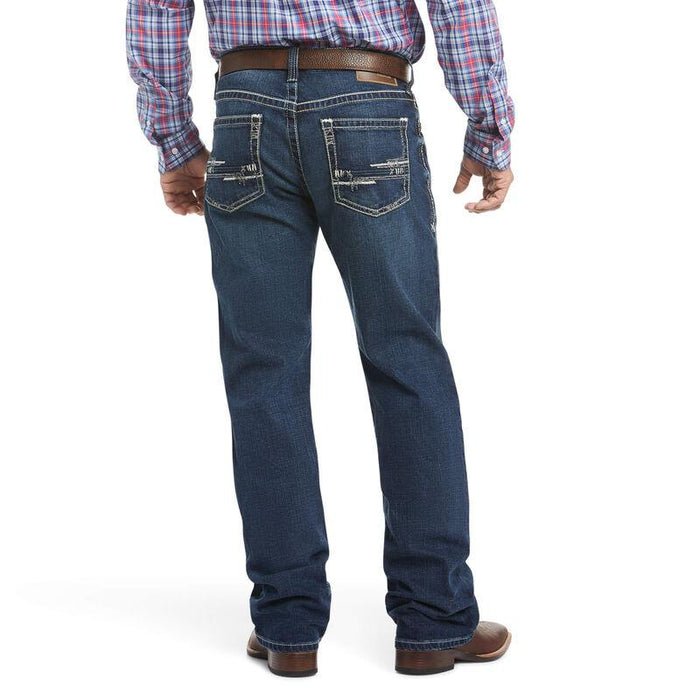 Ariat Men's - M4 Low Rise Stretch Adkins Boot Cut Jeans ME.AP. FASHION JEAN ARIAT INTERNATIONAL, INC.