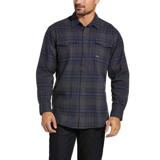 Ariat Men's - Rebar Flannel DuraStretch Work Shirt WORK AP.SHIRT L.S. FLANNEL ARIAT INTERNATIONAL, INC.
