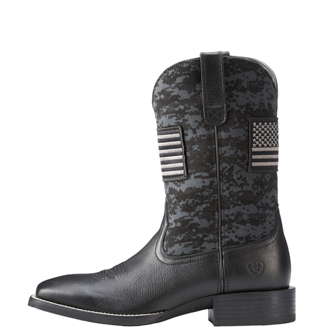"Ariat Men's - Sport Patriot 11"" - Wide Square toe MENS WESTERN SQUARETOE ARIAT INTERNATIONAL, INC."