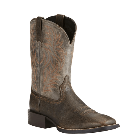 "Ariat Men's - Sport Western 11"" - Wide Square toe MENS WESTERN SQUARETOE ARIAT INTERNATIONAL, INC."