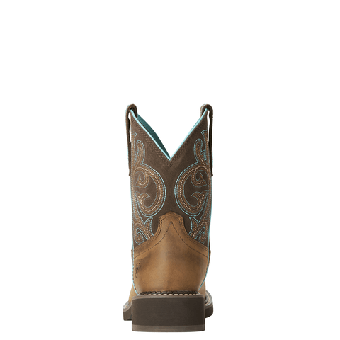 "Ariat Women's - Fatbaby® Heritage 8"" - Round toe WOMENS BOOT WESTERNRUBBR SOLE ARIAT INTERNATIONAL, INC."