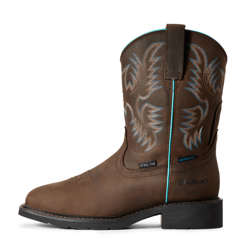 "Ariat Women's - Krista Waterproof 9"" - Steel toe WOMENS BOOT WTRPROOFSAFETY ARIAT INTERNATIONAL, INC."
