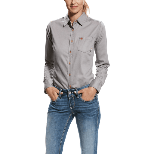Ariat Women's - Silver Fox Flame Resistant Twill WOMENSFIRE RESISTANTCLOTHING ARIAT INTERNATIONAL, INC.