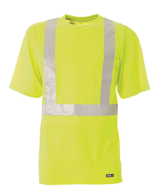 Berne Apparel Men's HI-Visibility Short Sleeve Pocket Tee ME.AP.HI VIZ SHIRT/SWEATSHIRT BERNE APPAREL CO.