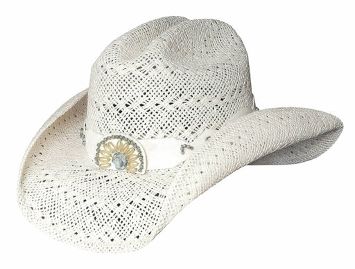 Bullhide Hats Itchygoonie – White Cowgirl Hat ACC.HAT LADIES STRAW BULLHIDE HAT CO.
