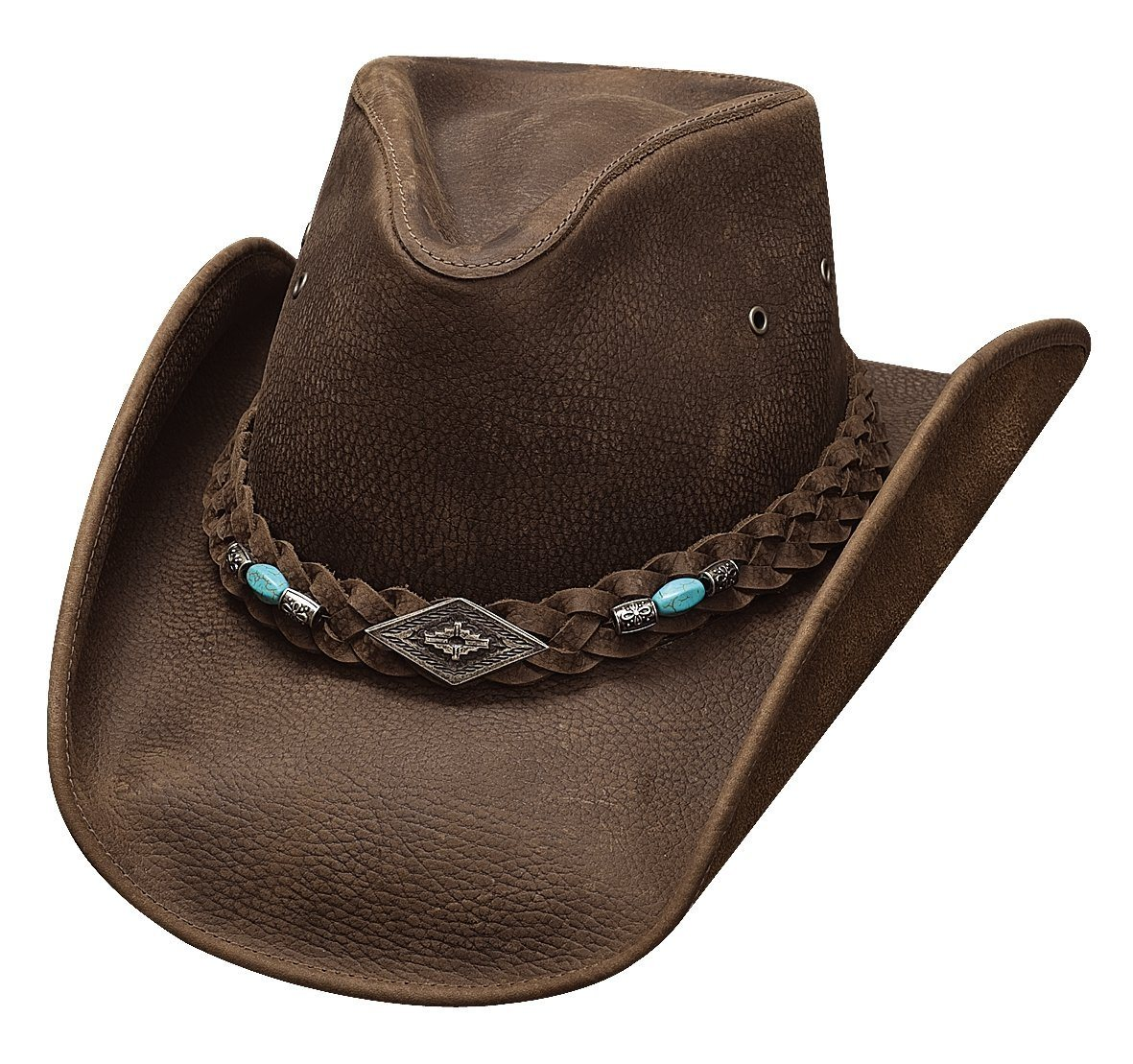 Bullhide Hats Royston – Brown Cowboy/girl Hat ACC.HAT LEATHER BULLHIDE HAT CO.
