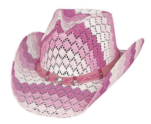 Bullhide Hats Teenage Dream – Pink Cowgirl Kids Hat KIDS HATS-STRAWS BULLHIDE HAT CO.