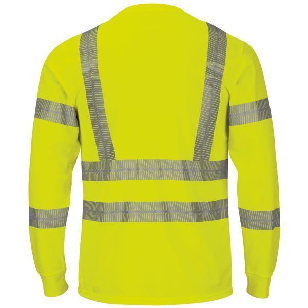 Bulwark Men's - Performance Hi-Vis Long Sleeve Tee ME.AP.HI VIZ SHIRT/SWEATSHIRT VF IMAGEWAR INC