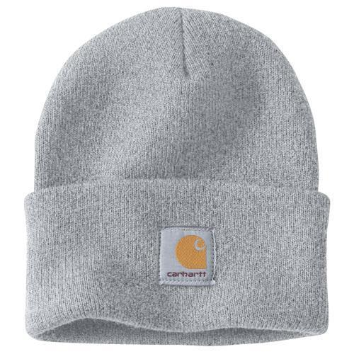 Carhartt Acrylic Watch Hat - Heather Grey WORK AP. HAT KNIT CARHARTT, INC.
