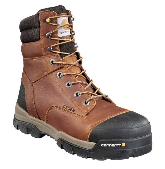 "Carhartt Men's - 8"" Ground Force Hiker - Composite Toe MENS LACEWATRPROOFSAFETY TOE BLACK DIAMOND"