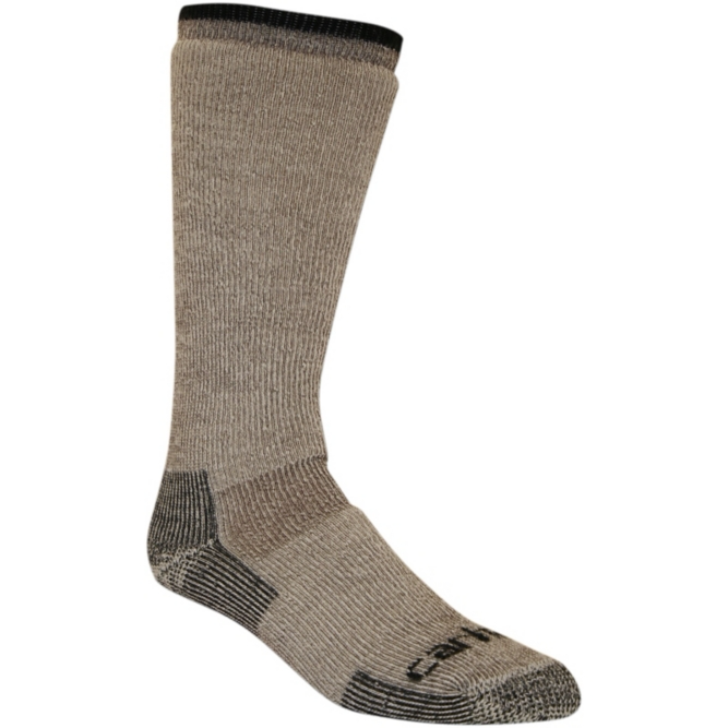 Carhartt Men's Arctic Wool Heavyweight Boot Sock - Brown WORK AP.SOCKS WINTER RENFRO CORPORATION