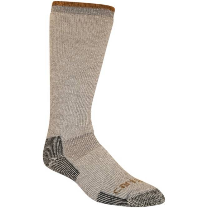 Carhartt Men's Arctic Wool Heavyweight Boot Sock - Heather Gray WORK AP.SOCKS WINTER RENFRO CORPORATION