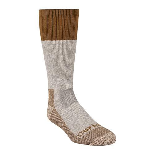 Carhartt Men's Cold Weather Boot Sock - Brown WORK AP.SOCKS WINTER RENFRO CORPORATION