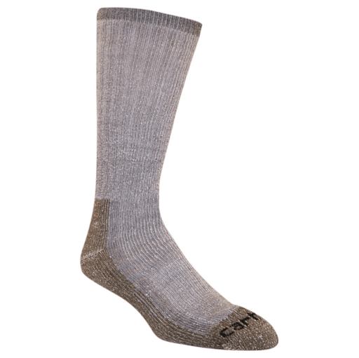 Carhartt Men's Full Cushion Acrylic Steel-Toe Work Boot Socks - Heather Gray WORK AP.SOCKS STEELTOE RENFRO CORPORATION