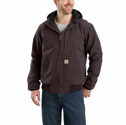 Carhartt Men's - Full Swing® - Dark Brown Jacket WORK AP.OUTERWEAR INSULATED CARHARTT, INC.