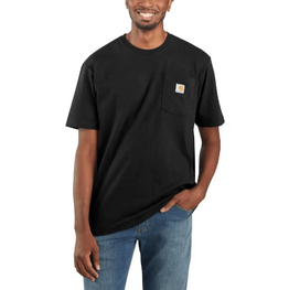 Carhartt Men's - Workwear Pocket T-Shirt Original Fit - Black WORK AP.SHIRT T-SHIRT CARHARTT, INC.