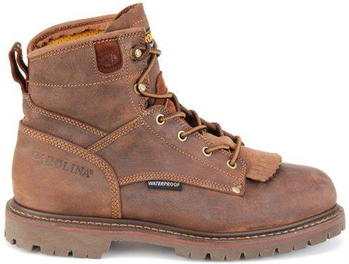 "Carolina Men's 6"" Waterproof Work Boot - Composite Toe MENS LACEWATRPROOFSAFETY TOE CAROLINA SHOE COMPANY"