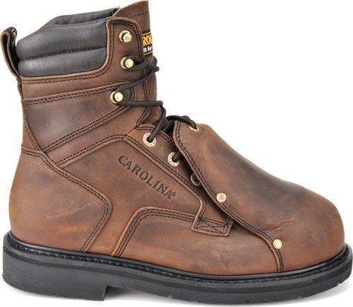 "Carolina Men's 8"" Broad Toe External MetGuard - Steel Toe MENS BOOTLACE MET GUARDS/S-T CAROLINA SHOE COMPANY"