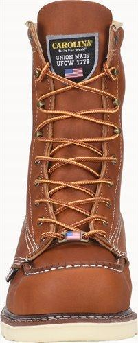 "Carolina Men's - 8"" Moc Toe Made in USA - Non-Safety Toe MENS BOOTLACE WORKNON-SAFETY CAROLINA SHOE COMPANY"