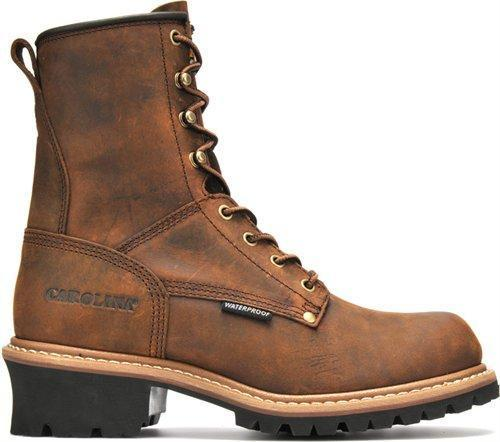 "Carolina Men's 8"" Waterproof Logger - Non-Safety MENS LACEWATERPRF NON- SAFETY CAROLINA SHOE COMPANY"