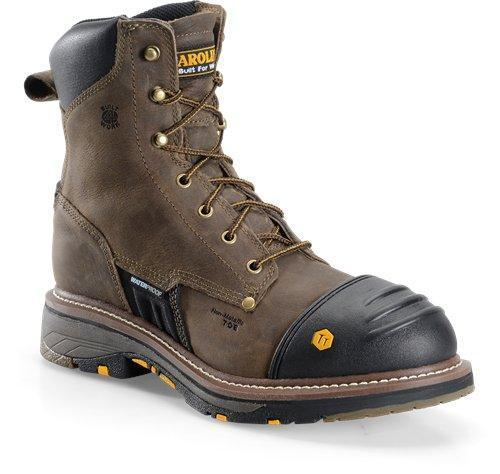 "Carolina Men's 8"" Workflex - Round Composite Toe MENS LACEWATRPROOFSAFETY TOE CAROLINA SHOE COMPANY"