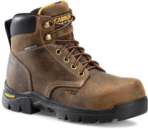 "Carolina Women's 6"" Waterproof Work Boot - Composite Toe WOMEN LACEWTRPROOFSAFETY TOE CAROLINA SHOE COMPANY"