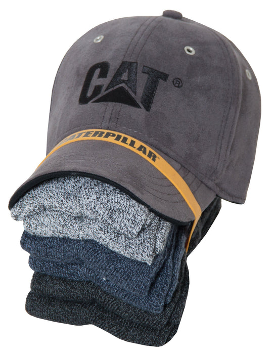 Caterpillar Baseball Cap and 6-pair Sock Bundle PROMOTION SUMMIT RESOURCE INTERNATI