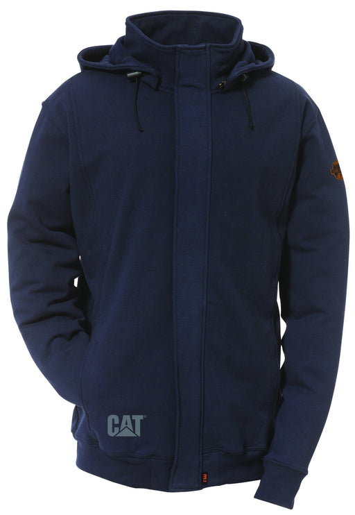 Caterpillar Men's Fire Resistant Full Zip Sweatshirt with Removable Hood ME.AP.FLAME RESISTANT SUMMIT RESOURCE INTERNATI