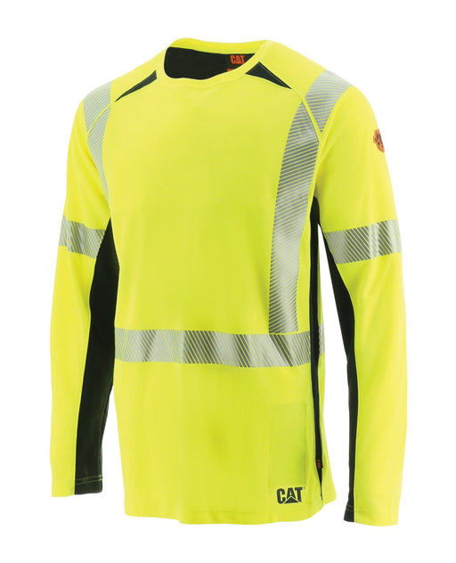 Caterpillar Men's Performance Hi-vis Fire Resistant Long Sleeve ME.AP.FLAME RESISTANT SUMMIT RESOURCE INTERNATI