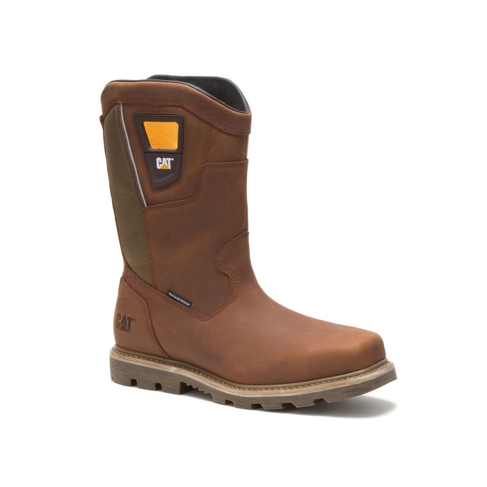 Caterpillar Men's - Waterproof Stillwell Tan - Steel toe MENS BOOTWATRPROOFSAFETY CATERPILLAR INC