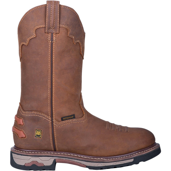 "Dan Post Boots Men's - 11"" Journeyman Waterproof - Round Toe MENS BOOTWATRPROOFNON-SAFETY DAN POST BOOT COMPANY"