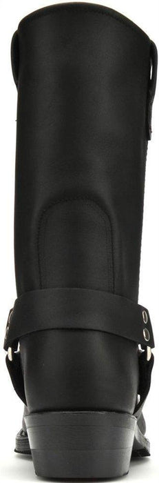 "Double H Men's 10"" Domestic Harness Boot - Black MENS BOOTWESTERN RUBBER SOLE DOUBLE-H BOOT COMPANY"
