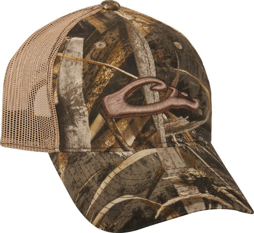 Drake - 6-Panel Realtree Max-5 Camo Mesh-Back Cap ACC.HAT CAP ICON OUTDOORS LLC