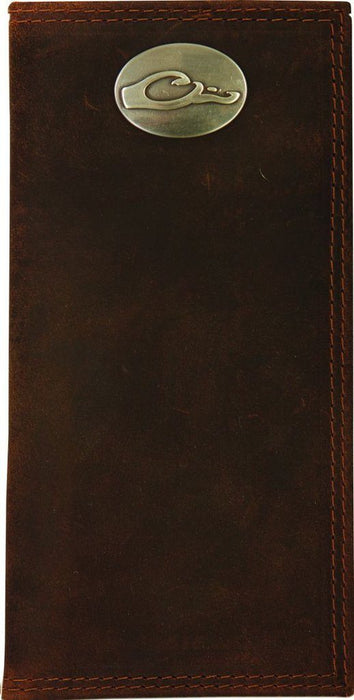 Drake - Leather Checkbook Wallet ACC.LEATHER WALLET MENS ICON OUTDOORS LLC