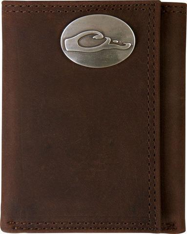 Drake - Leather Tri-Fold Wallet ACC.LEATHER WALLET MENS ICON OUTDOORS LLC